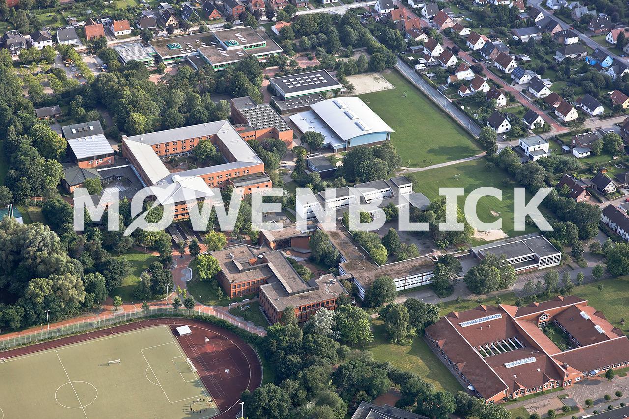 Gymnasium Luftbild