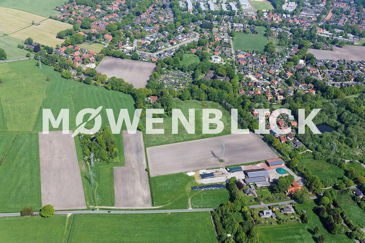 Schramperweg Ziegeleiweg Luftbild