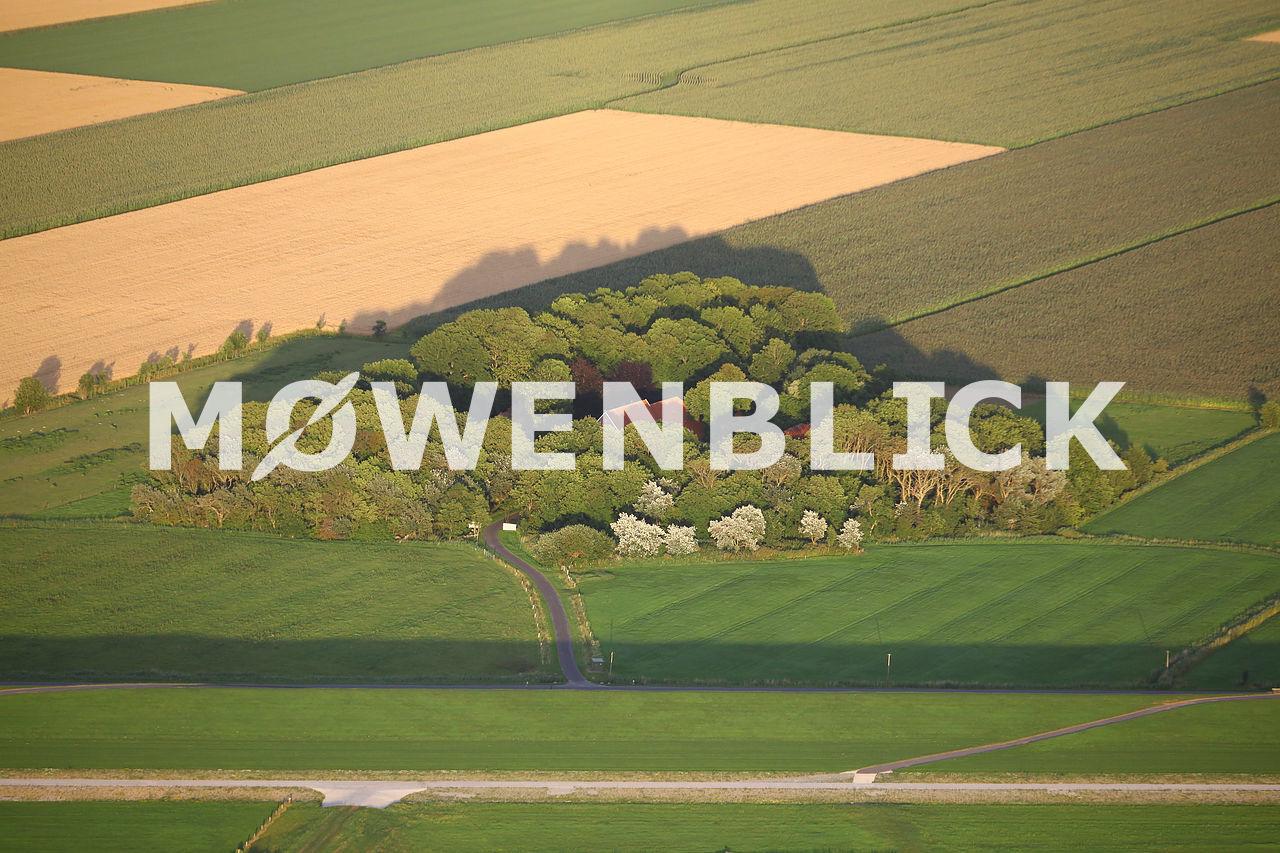 Bauernhof Luftbild