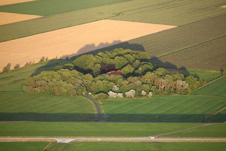 Luftaufnahme Nordholz