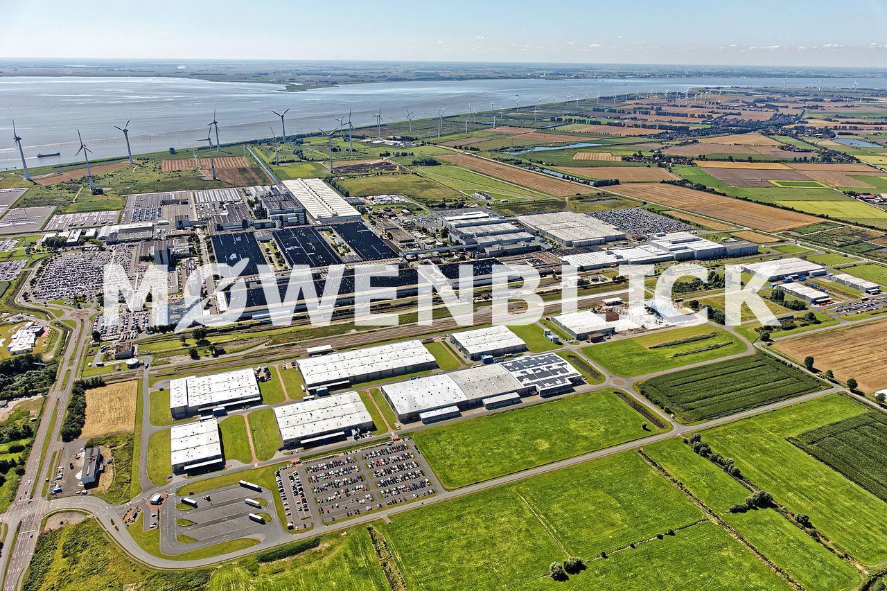 Frisia Industriepark Luftbild