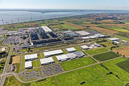 Luftaufnahme Frisia Industriepark