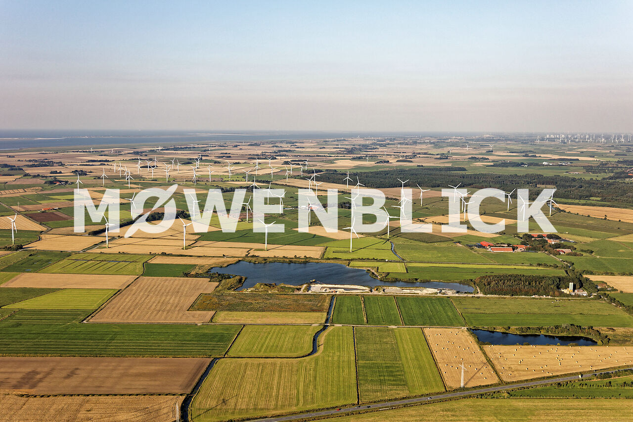 Windpark Wester Luftbild