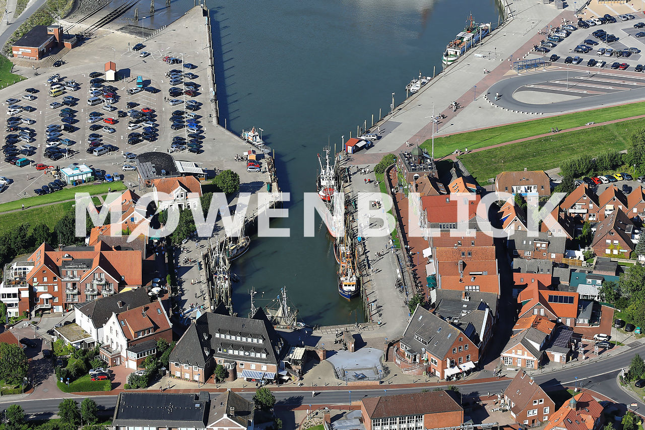 Kurverein Hafen Luftbild