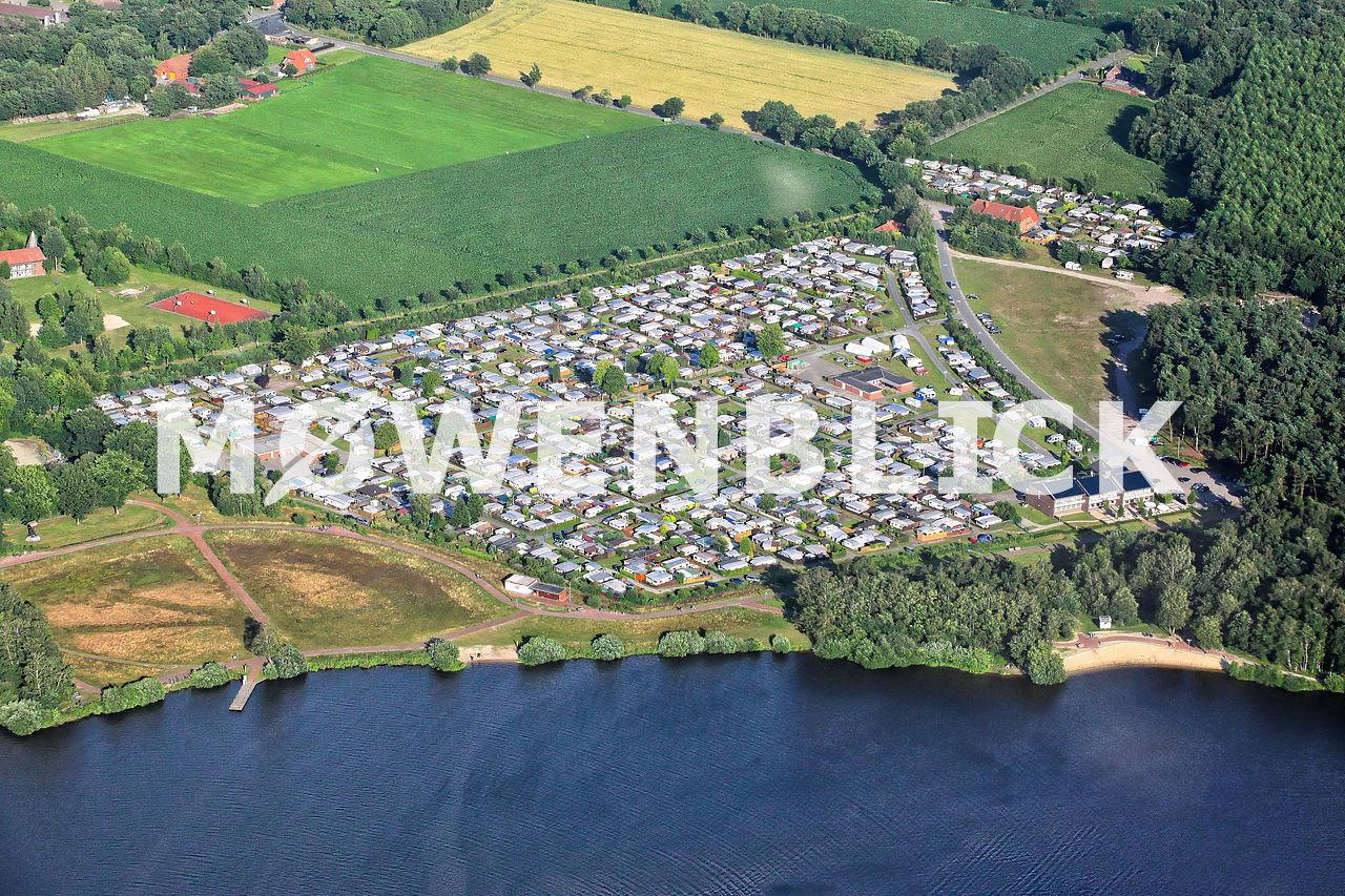 Campingplatz Einhaus Luftbild
