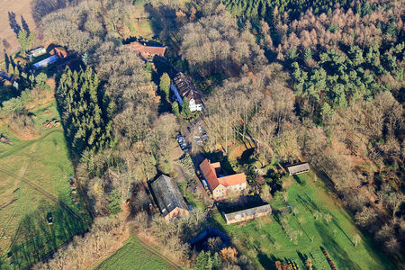 Luftaufnahme Fachklinik Oldenburg Land