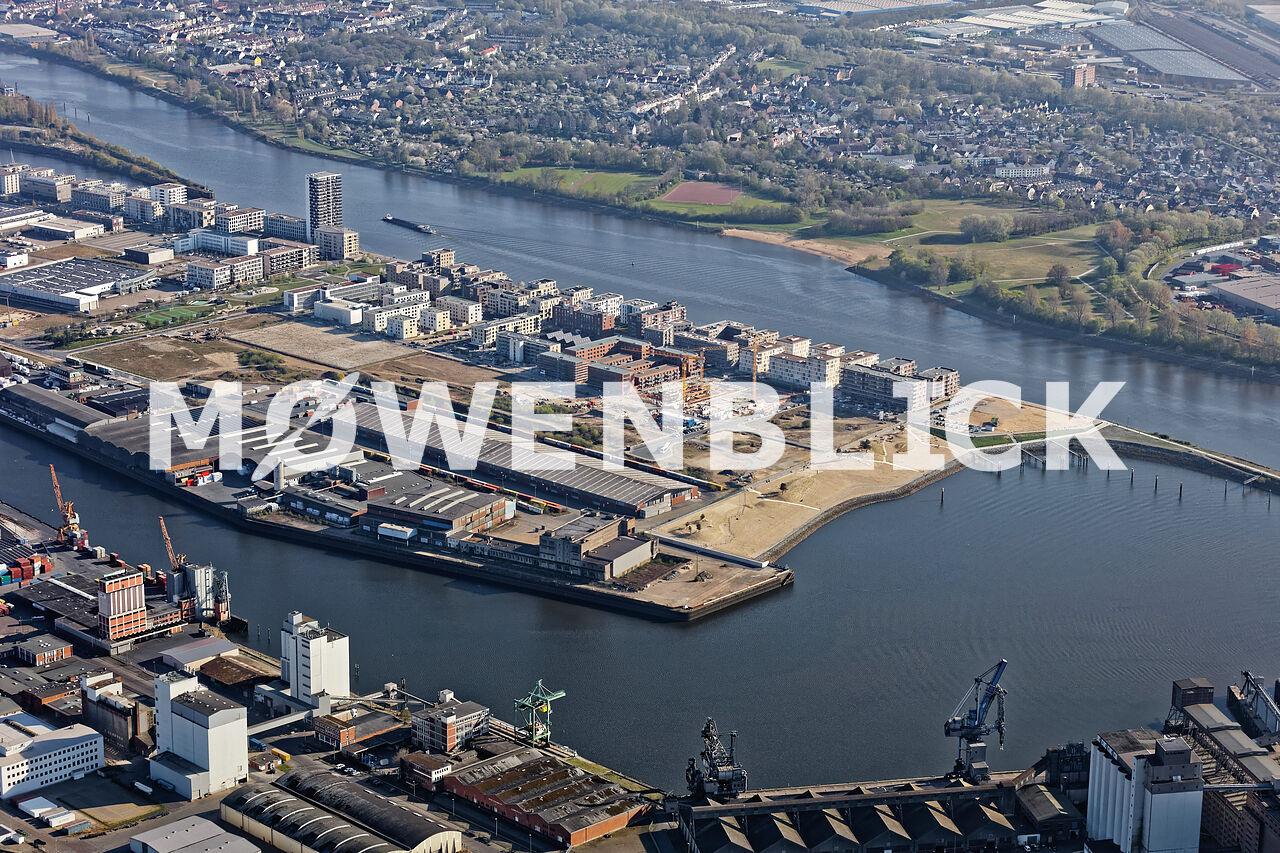 Überseepark Luftbild