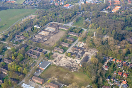 Luftaufnahme Kaserne