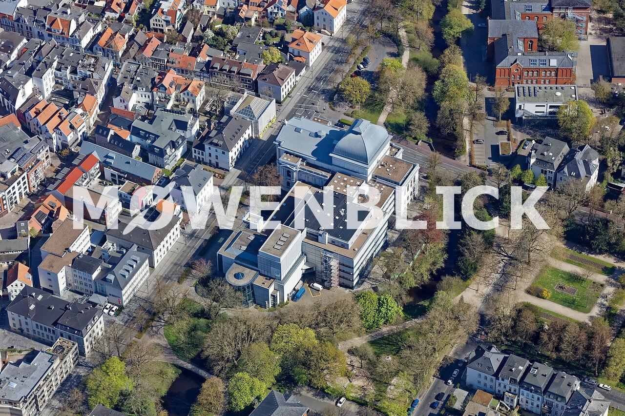 Theaterwall Roonstraße Luftbild