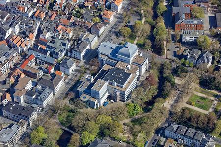 Luftaufnahme Theaterwall