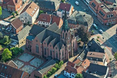 Luftaufnahme St. Anna Kirche