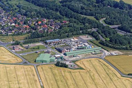Luftaufnahme Fedderwarden