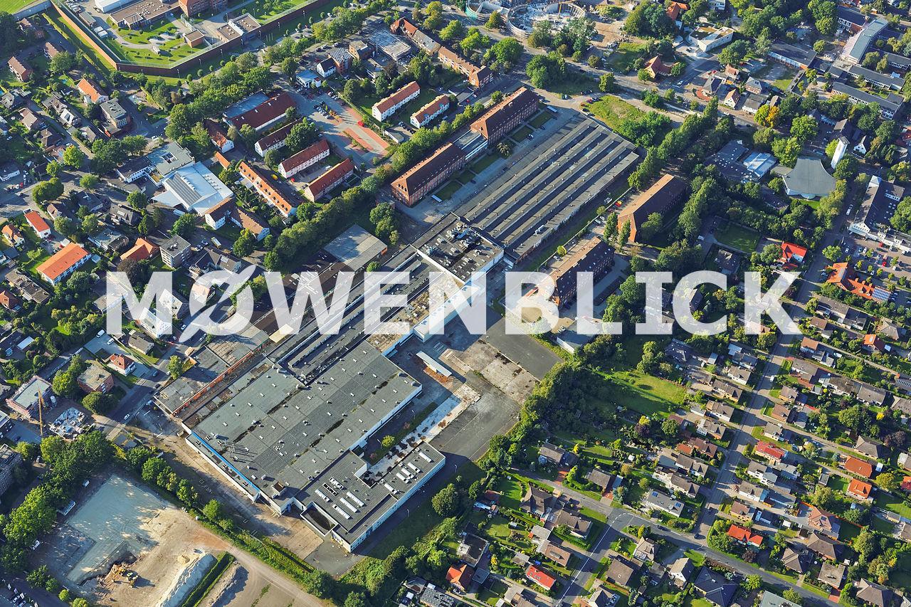 AEG Gelände Kreyenbrück Luftbild