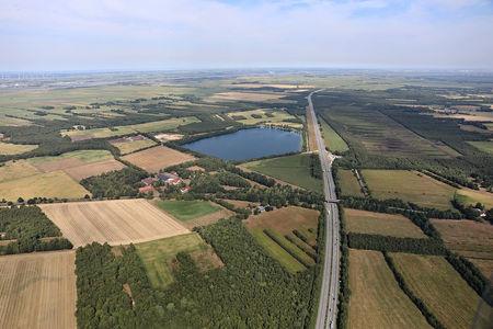 Luftaufnahme Grienenberg See