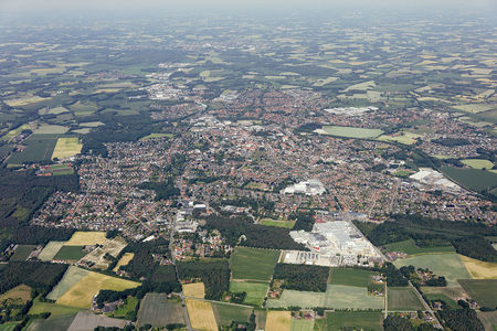 Luftaufnahme Ort