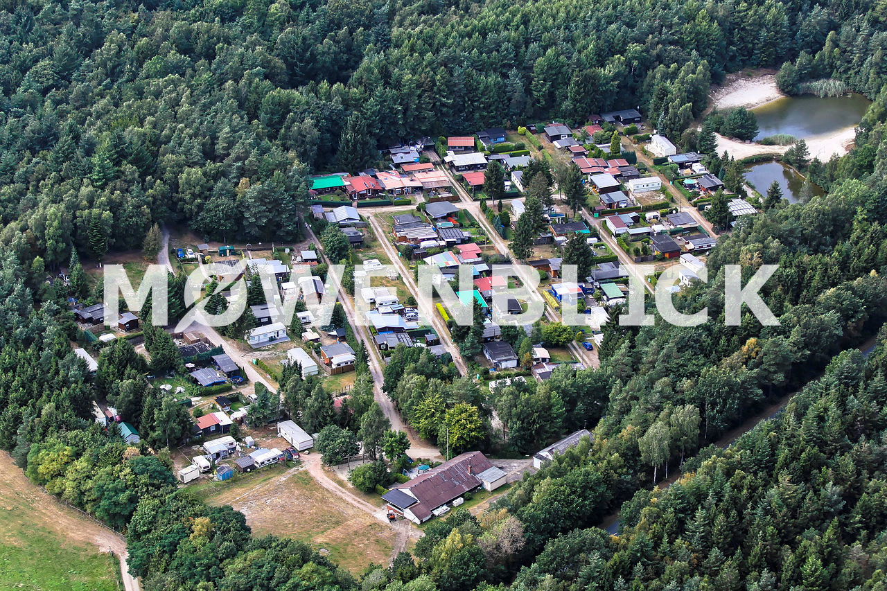 Waldcampingplatz Kokenmühle Luftbild