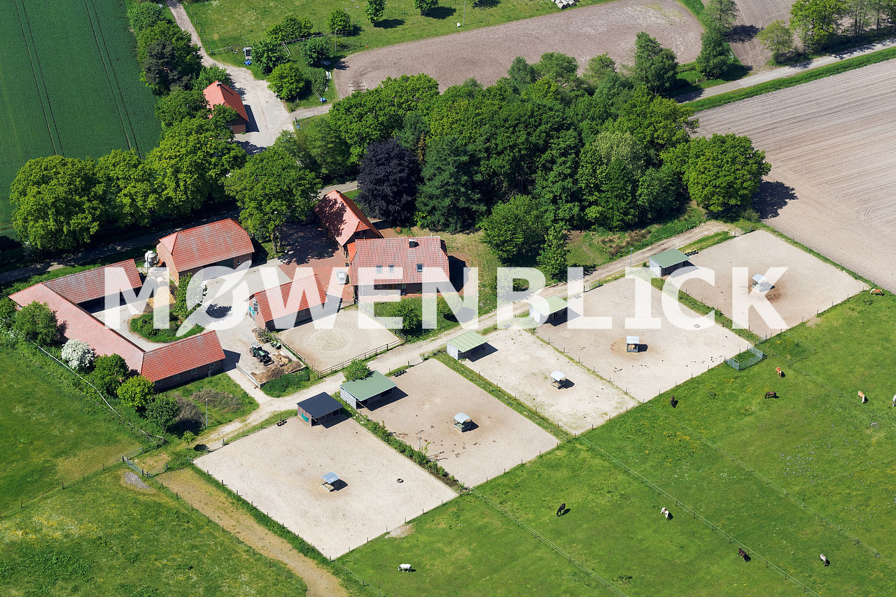 Reiterhof Fürstendamm Luftbild