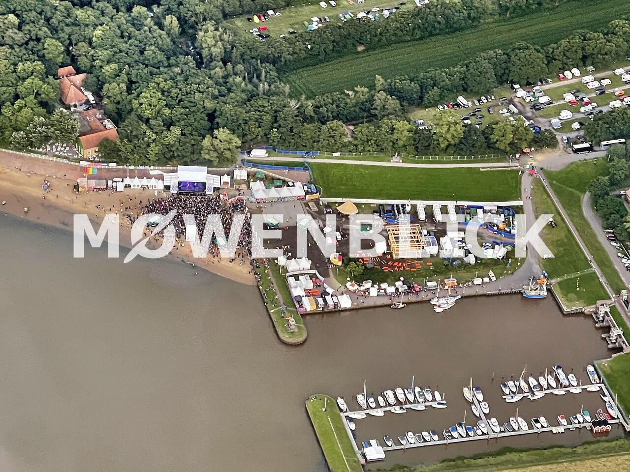 Watt en Schlick Festival 2021 Luftbild