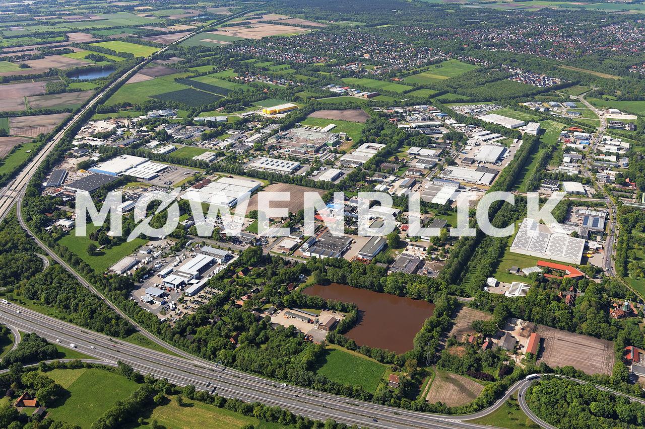 Gewerbegebiet Tweelbäke Luftbild