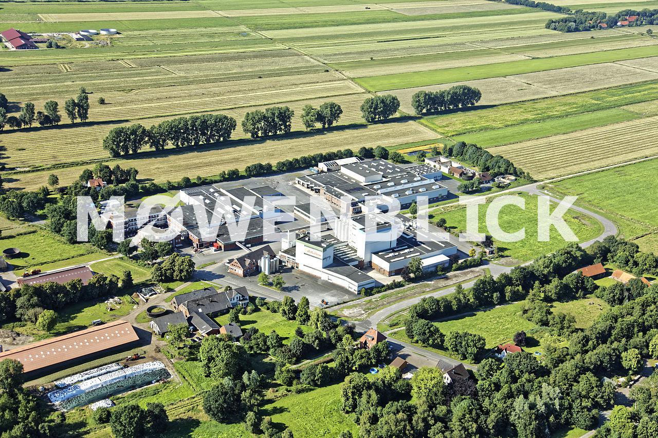 Milchwerk Luftbild