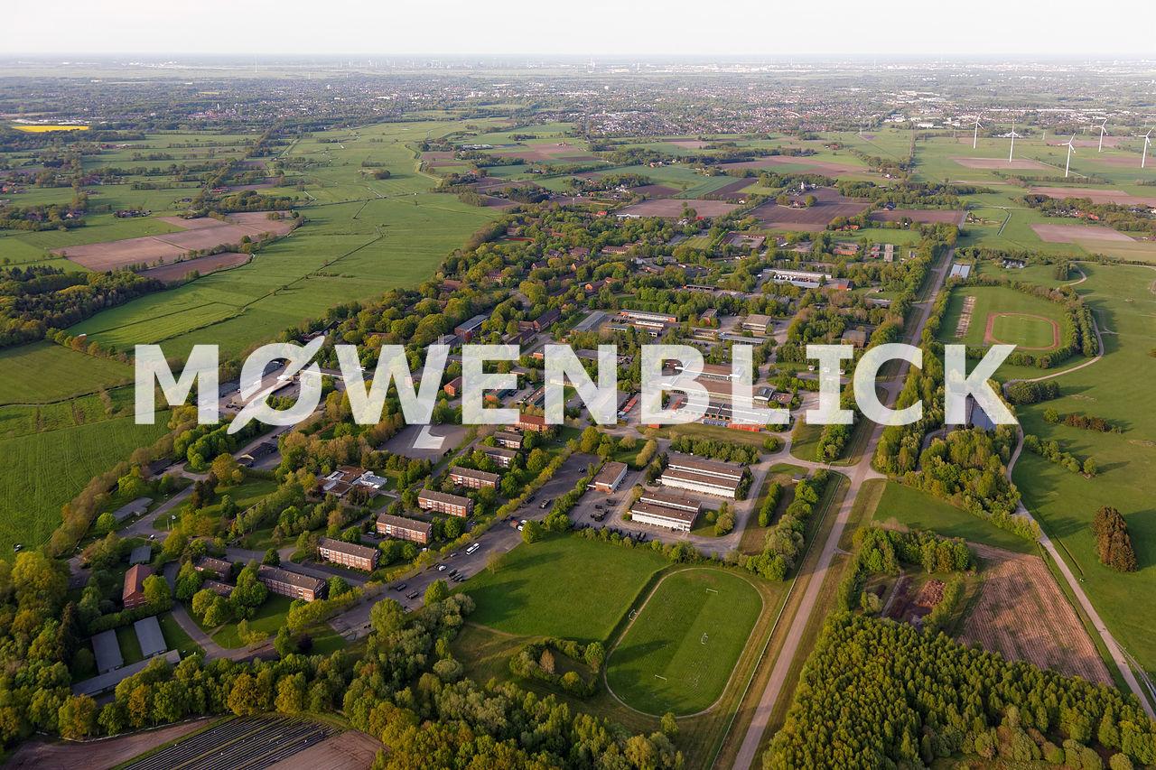 Feldwebel-Lilienthal Kaserne Luftbild