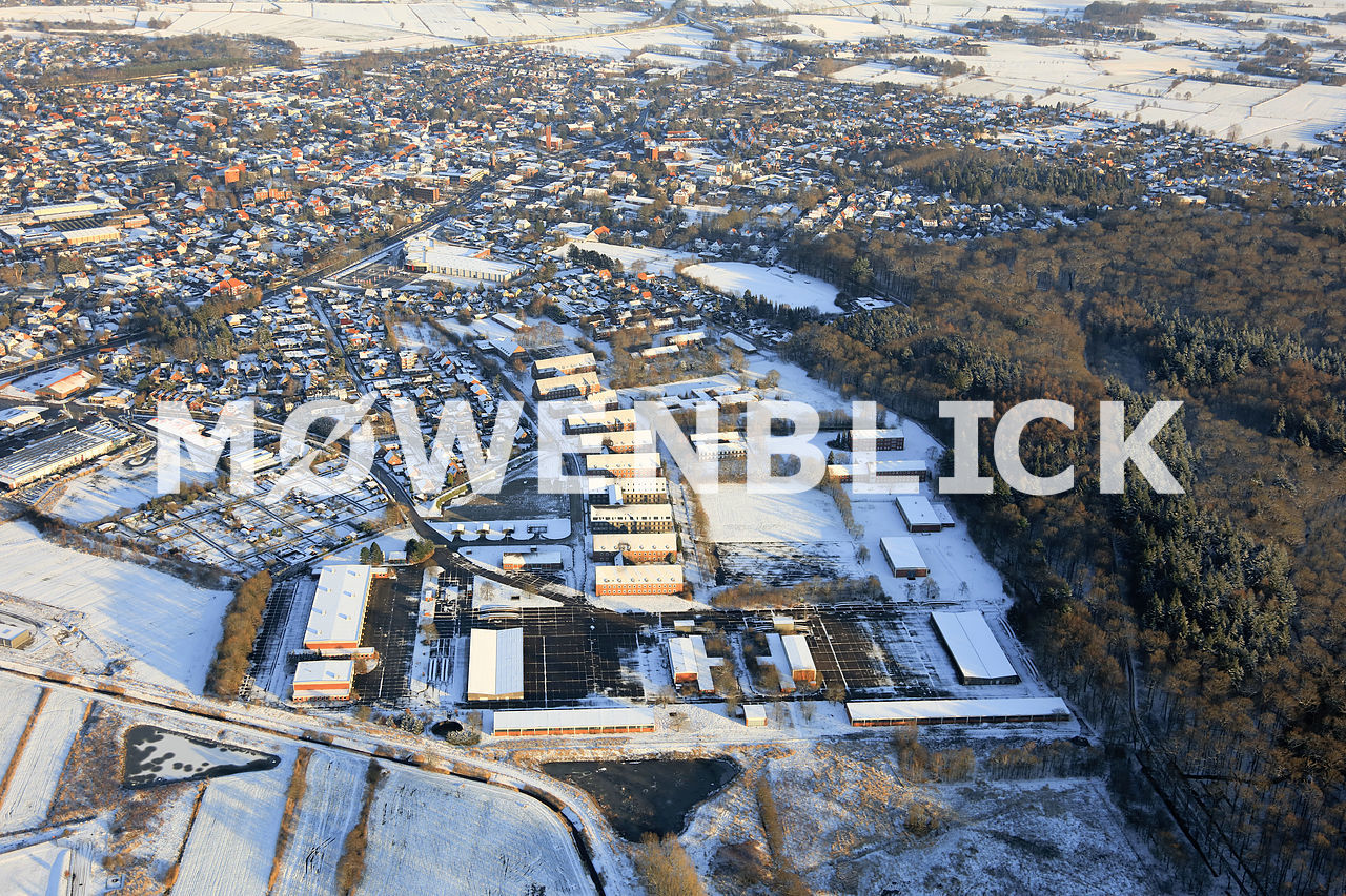 Kaserne Luftbild