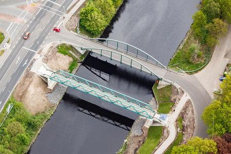 Luftaufnahme Brücke Wischenstraße