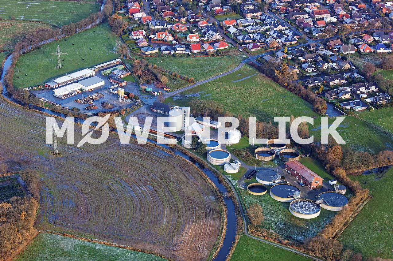Kläranlage Bad Zwischenahn Luftbild