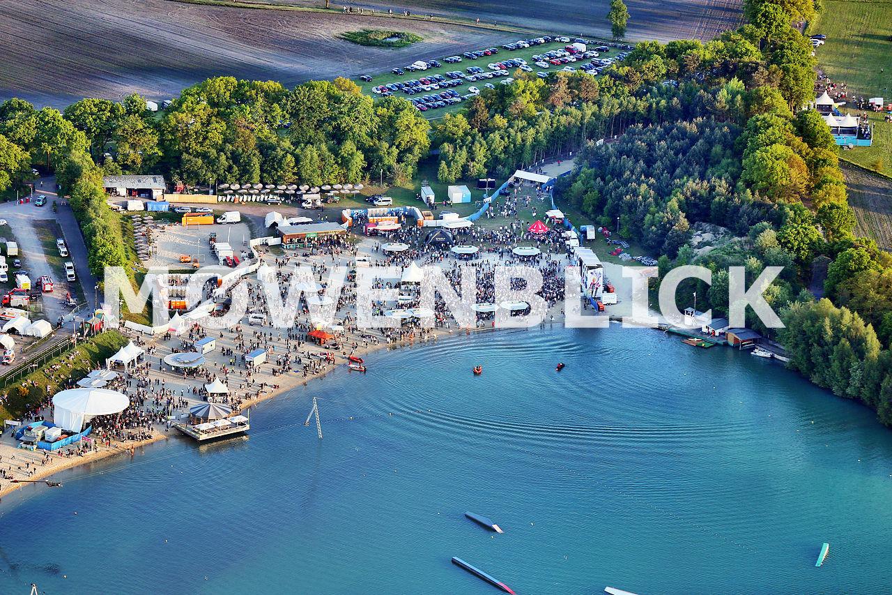 Oldenbora Beachclub Nethen 2016 Luftbild