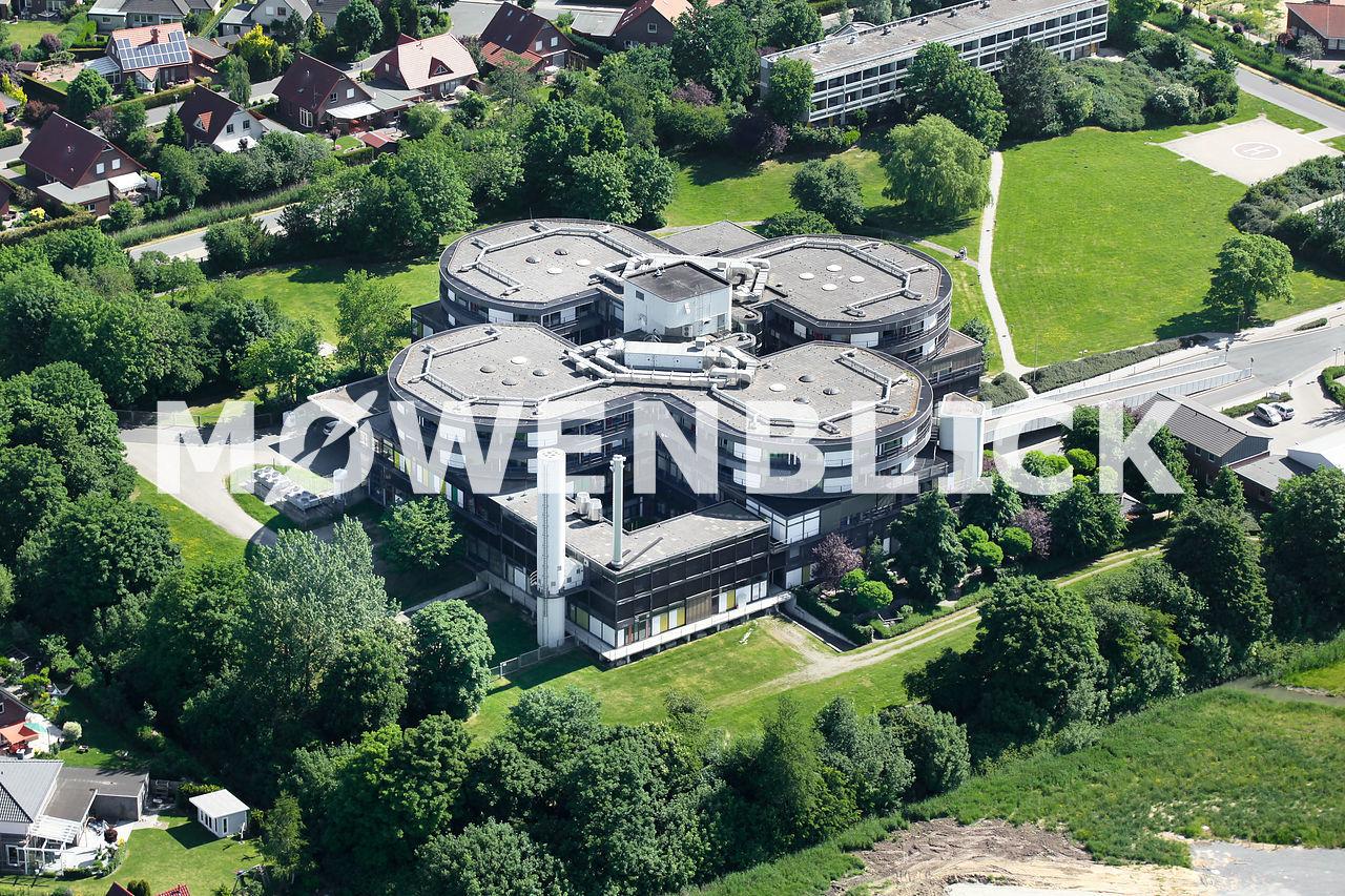 Wesermarsch-Klinik Luftbild