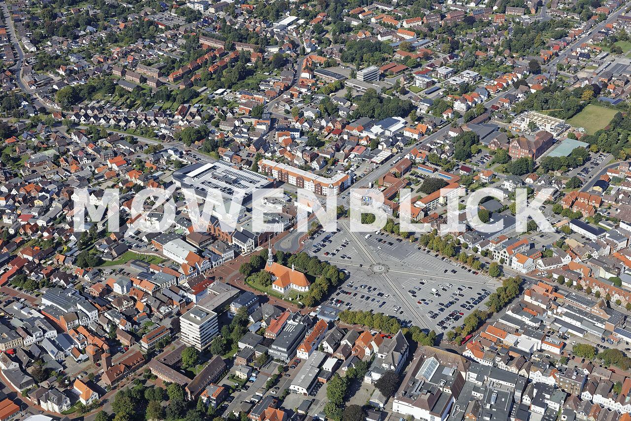 Größter Marktplatz Deutschlands Luftbild