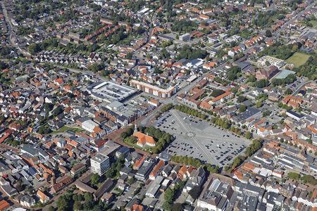 Luftaufnahme Größter Marktplatz Deutschlands