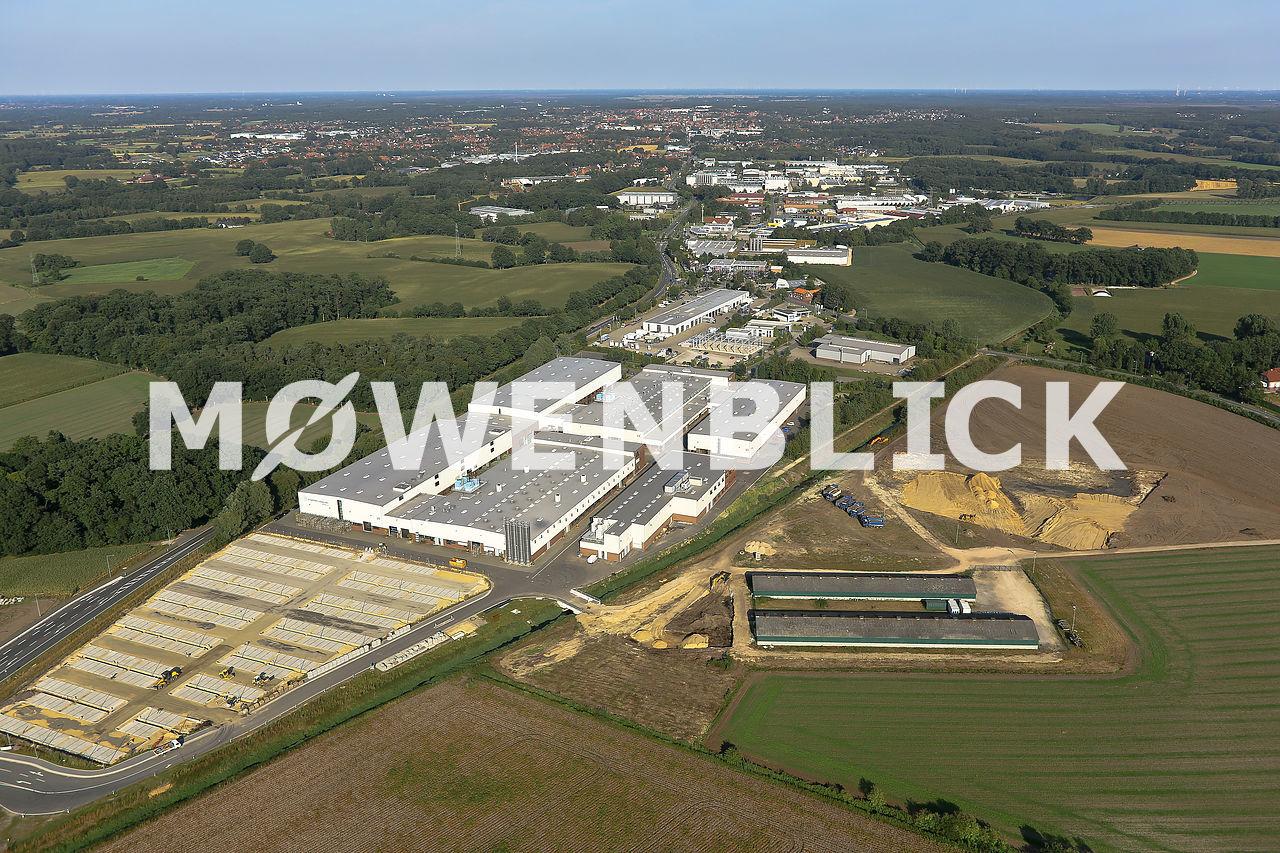 Pöppelmann Kunststofftechnik Luftbild