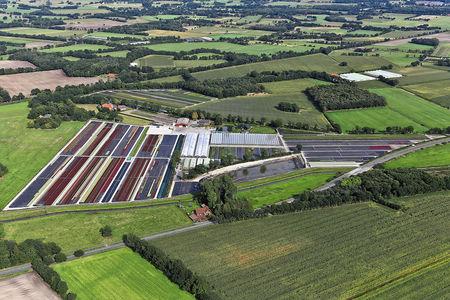 Luftaufnahme Delger Pflanzenhandel