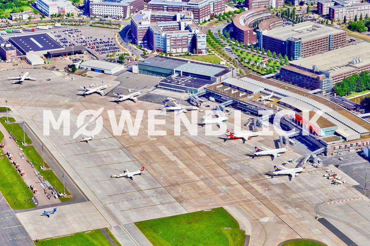 Flughafen Terminal Luftbild