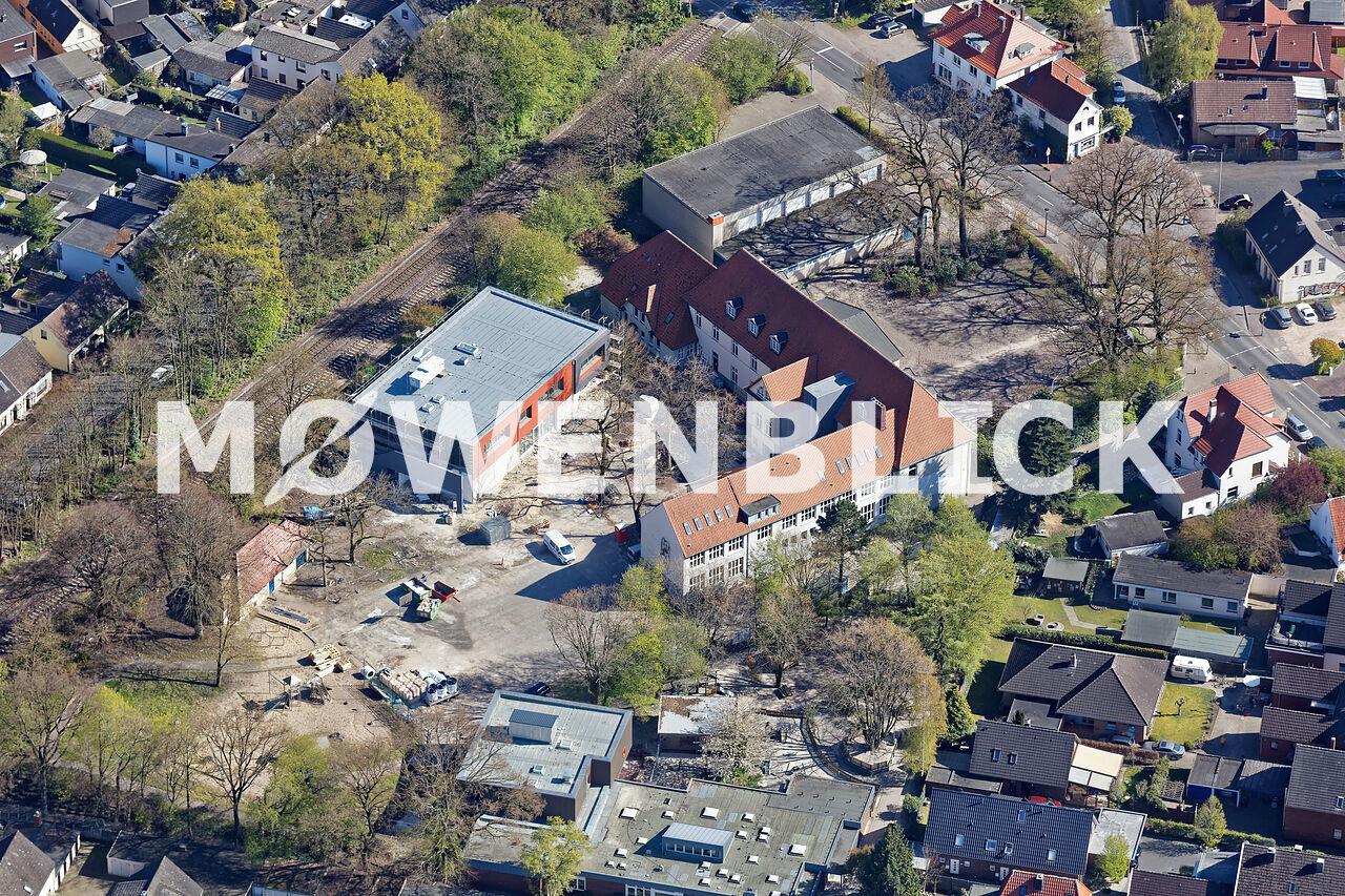 Grundschule Drielake Luftbild