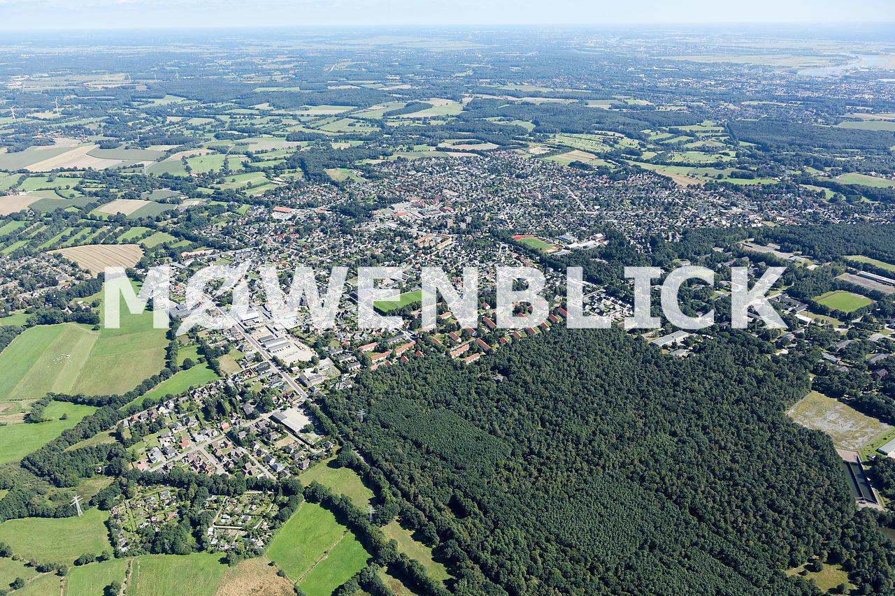 Schwanewede Luftbild