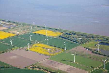 Luftaufnahme Windpark Emsdeich