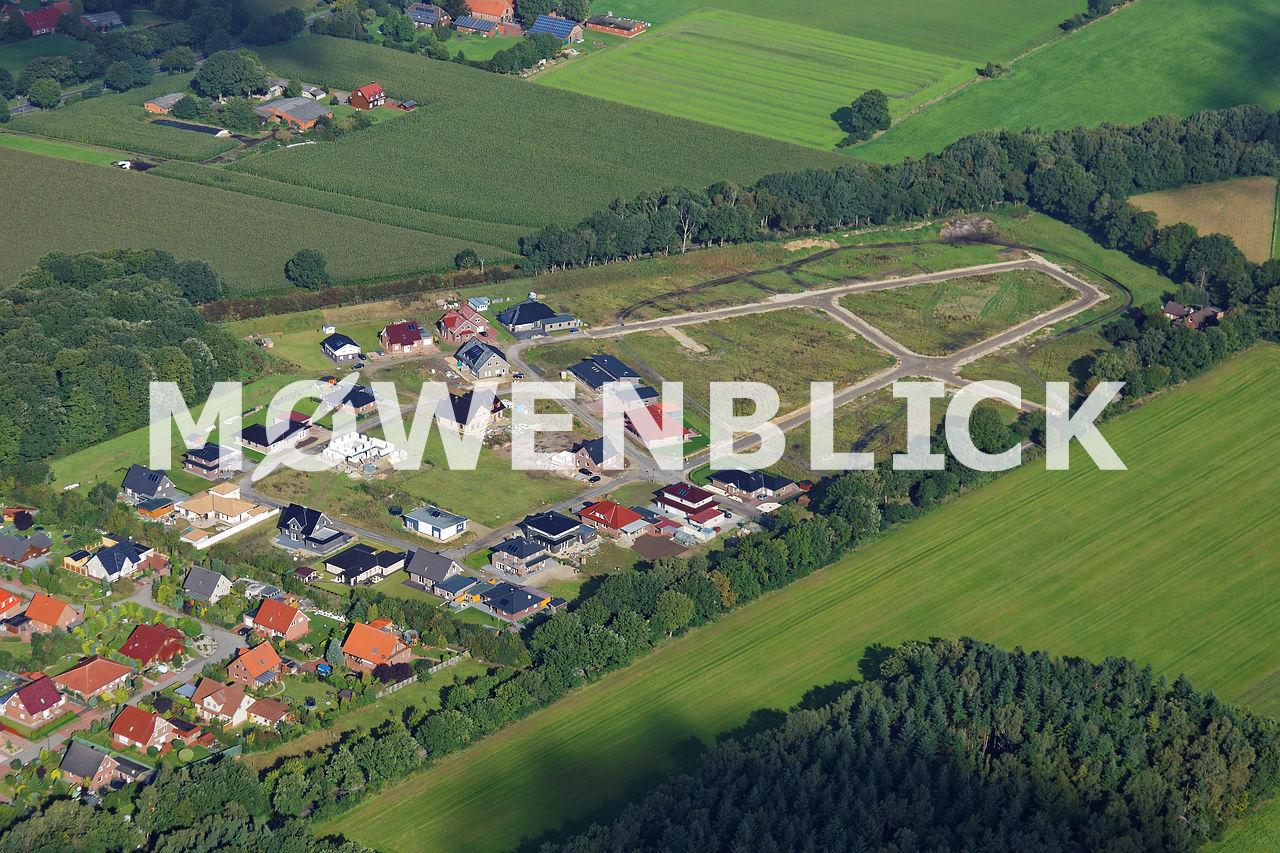 Wohngebiet Am Lehmsen II Luftbild