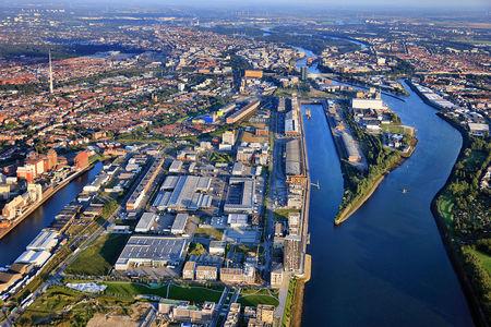 Luftaufnahme ALL ABOUT BEAUTY Bremen