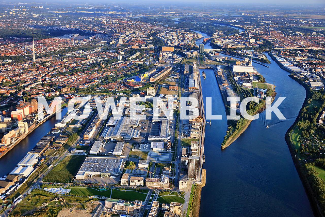 Weser Überseehafen Luftbild