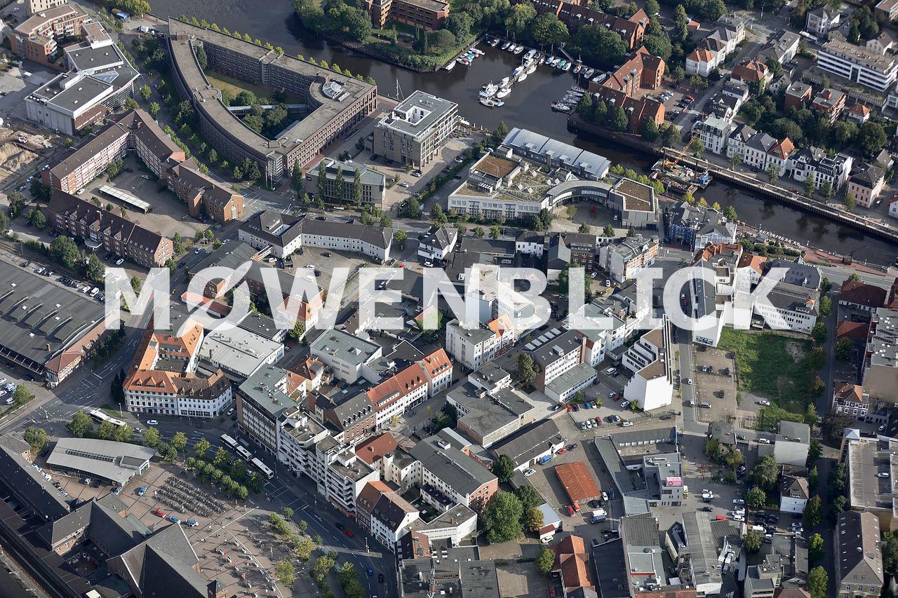 Kaiserstraße Bahnhofviertel Luftbild
