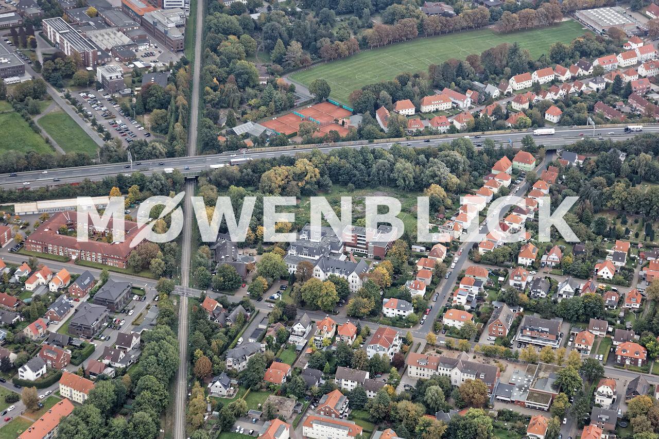 Quartier am Schützenweg Luftbild