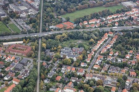 Luftaufnahme Linden Projekt