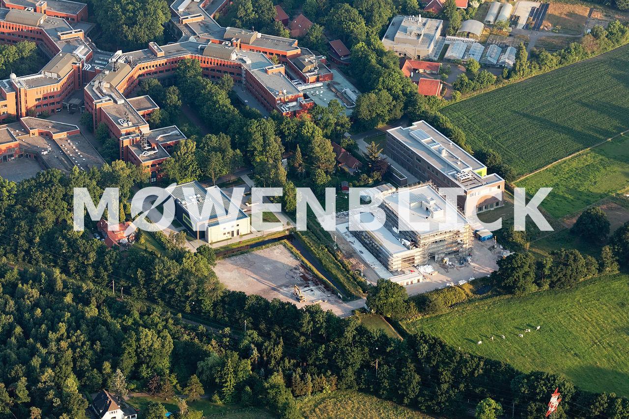 Baustelle WindLab Luftbild