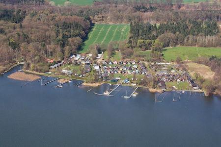 Luftaufnahme Segler-Club Hansa v.1898 eV