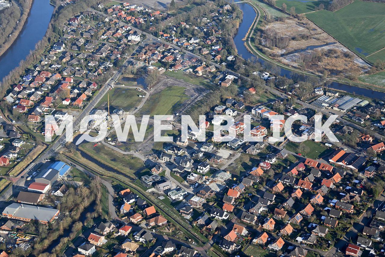 Baugebiet Maisfeld Luftbild