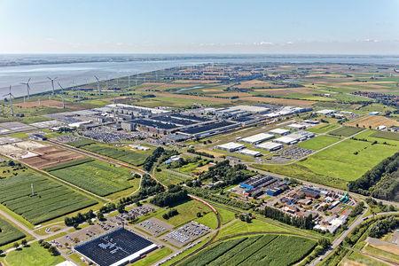 Luftaufnahme Industriepark Frisia