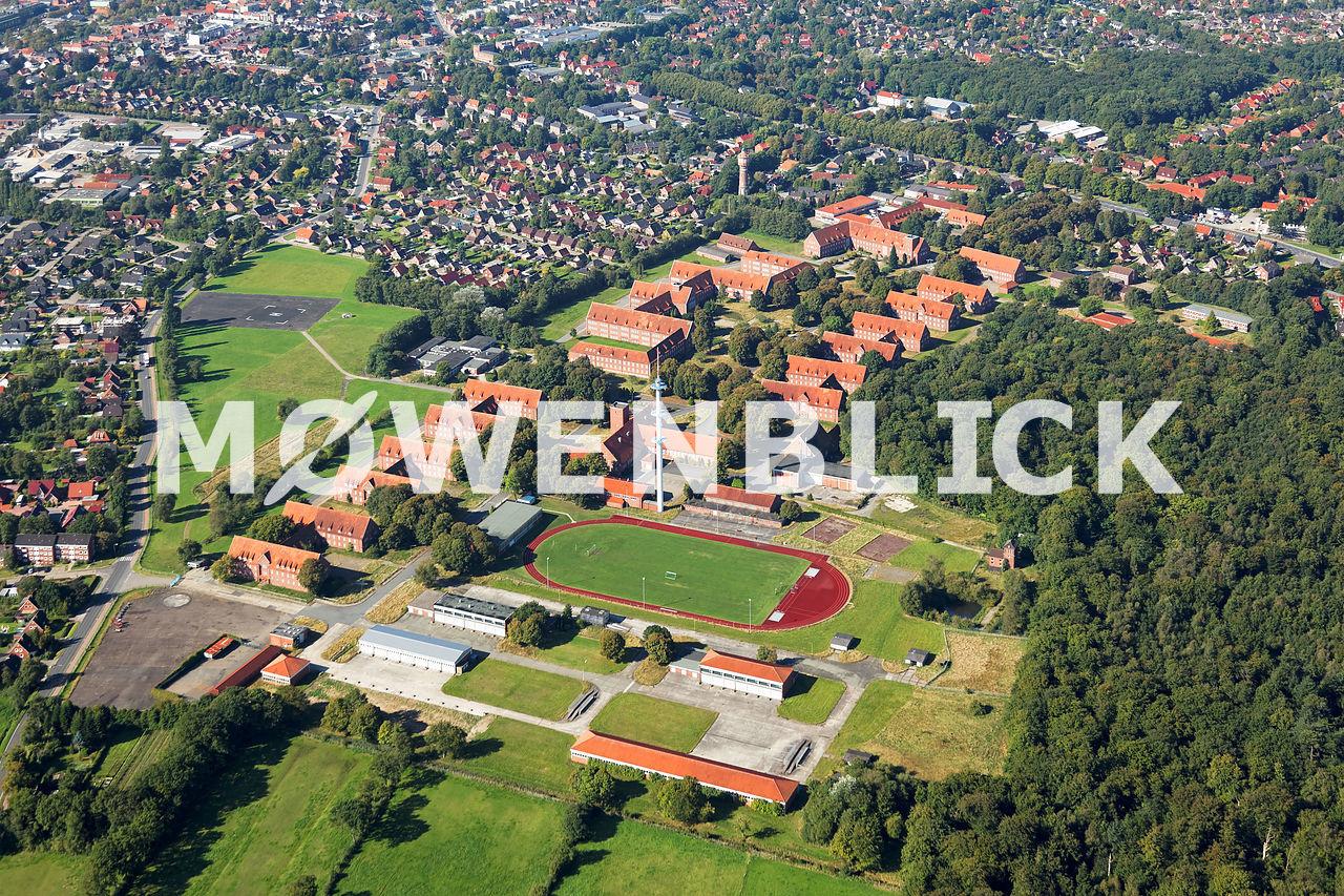 Kaserne Aurich Luftbild