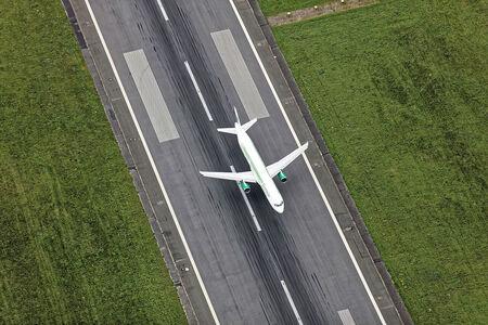 Landung Airliner
